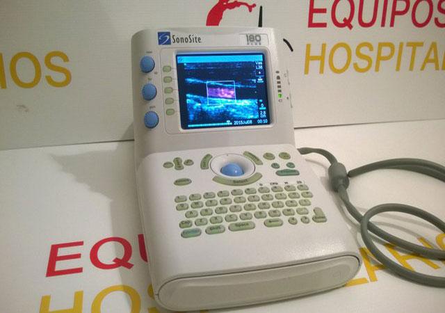 Equipos Hospitalarios - Sonosite 180 Plus - Equipos Hospitalarios